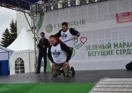 """Sibstrong шоу на Зелёном марафоне """"Бегущие сердца"""""""